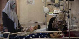 sky news africa Beset by virus, Gaza's hospitals now struggle with wounded
