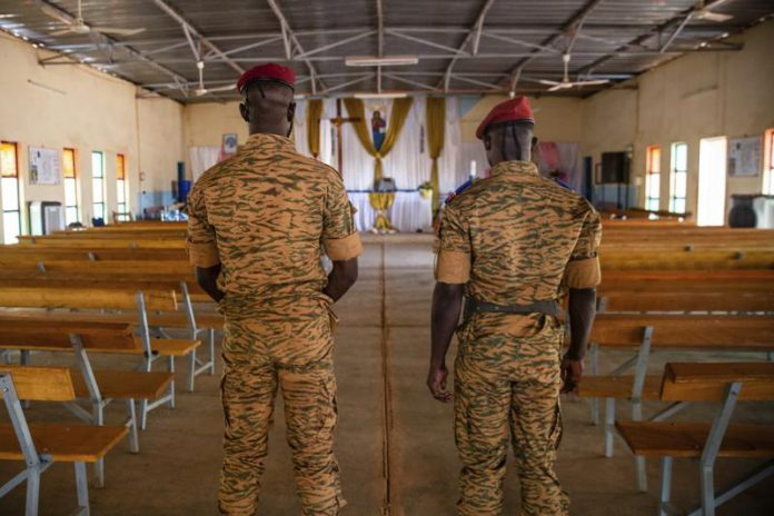 sky news africa Burkina Faso's army chaplains tested by extremist conflict
